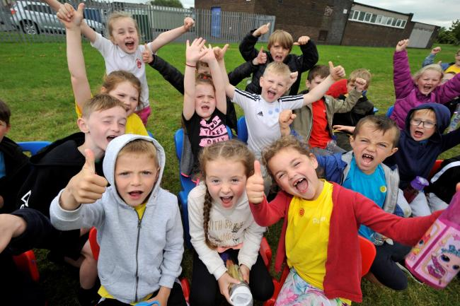 Annick youngsters enjoy fantastic school sports day