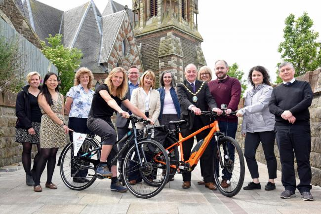 Official launch for Irvine's Active Travel Hub