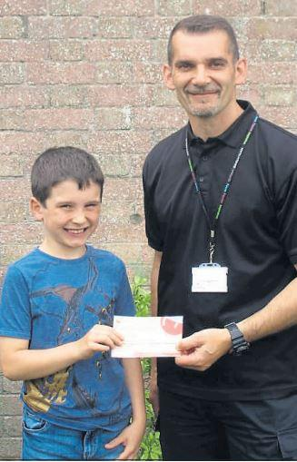 Noah, nine, foils the flytippers