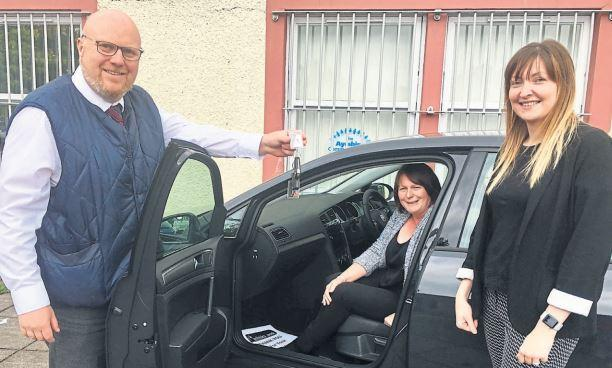 The Ayrshire Community Trust take on electric car