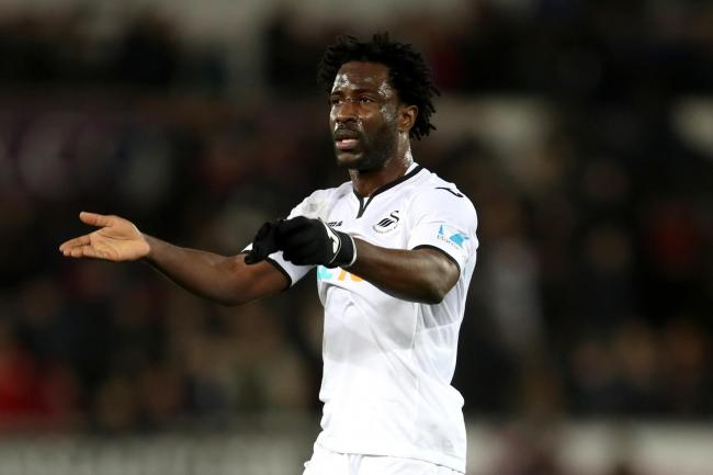 Former Swansea striker Wilfried Bony missed from the spot as the Ivory Coast bowed out of the Africa Cup of Nations
