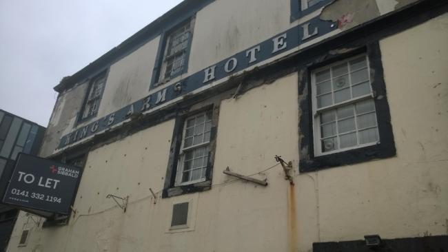 New group looking for ideas to save The King's Arms building