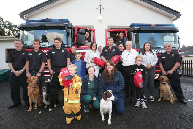 Ayrshire firefighters being equipped to save lives of family pets