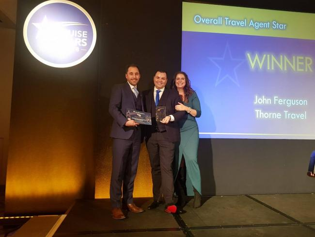 Kilwinning travel agent in the running for four cruise awards