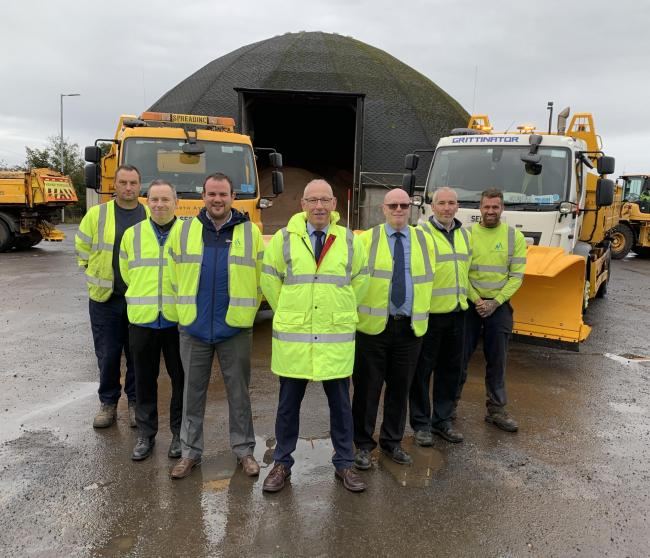 North Ayrshire road crew ready for Winter