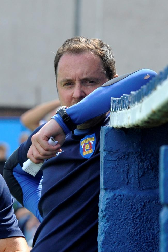 Irvine Meadow boss Brian McGinty