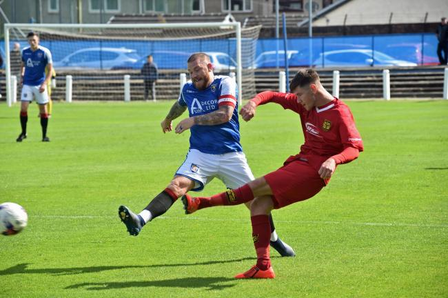 Irvine Meadow skipper Ben Carson faces a long lay-off.