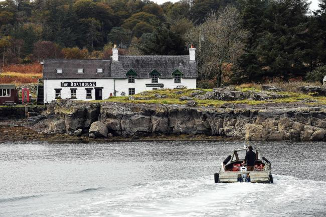 The community-owned Isle of Ulva seeks someone to run its restaurant/cafe business