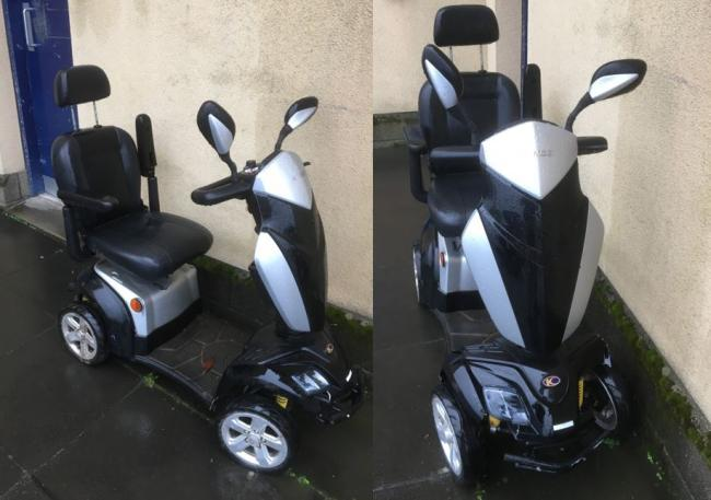Police appeal after mobility scooter found abandoned in Irvine