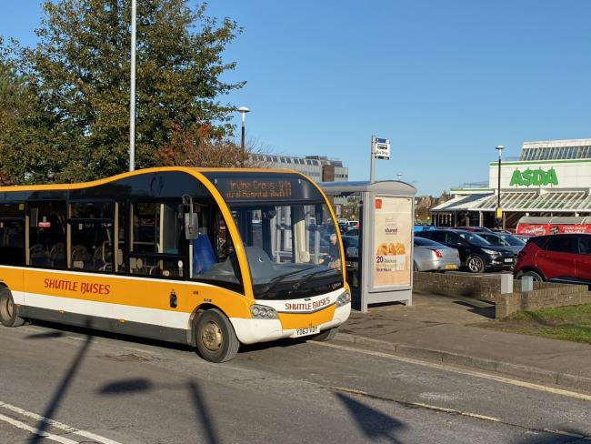 Shuttle Buses to step in and replace axed X11 bus service