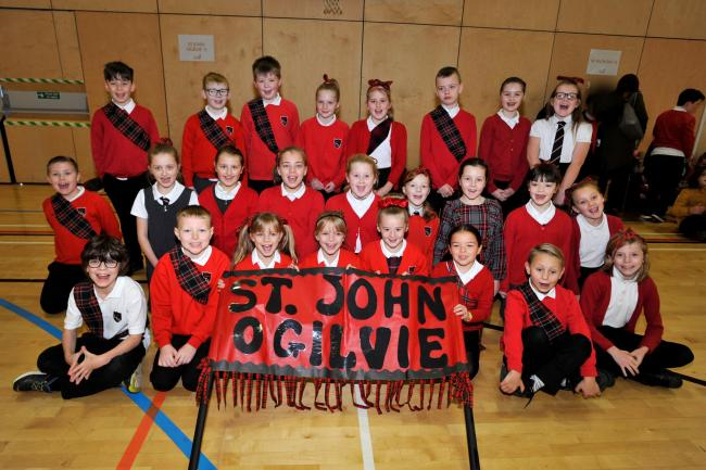Schools gather in Portal for celebration of Scottish Country Dancing