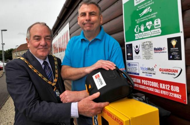 Chuck Wagon defibrillator 'saves life' after elderly man collapsed in supermarket