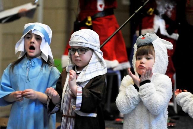 Blacklands pupils perform Christmas Nativity