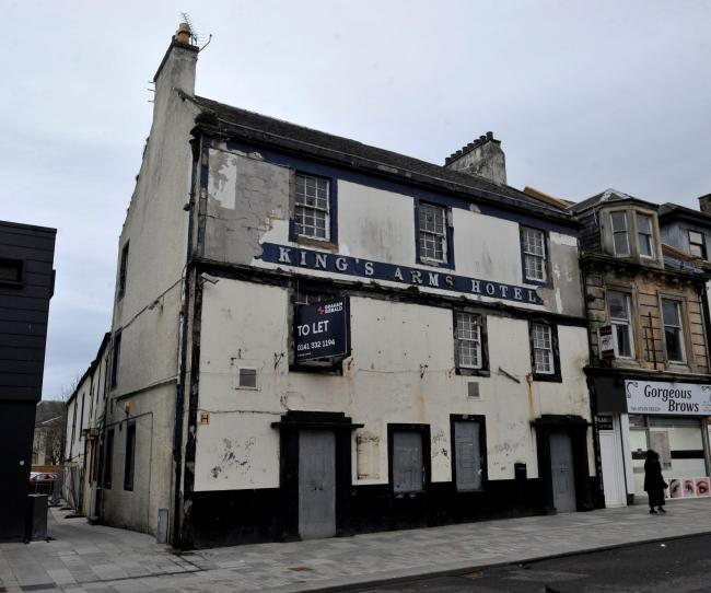Former King's Arms Hotel