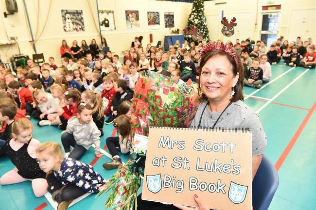 St.Lukes PS teacher Lena Scott retires.