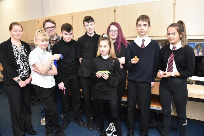 Greenwood pupils try hands at Virtual Reality and 3d printing