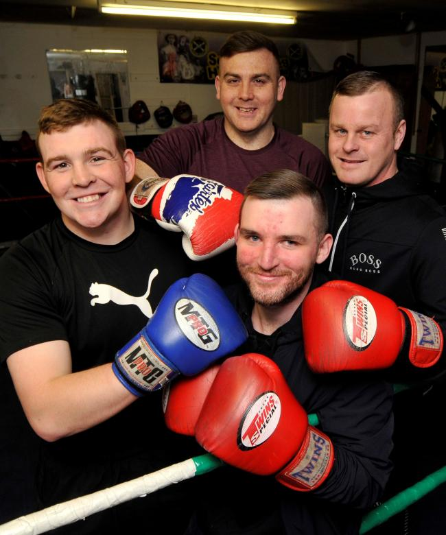 Alec Mullen Jnr is arranging a sold out boxing event at the Park Hotel, Kilmarnock in July, Vineburgh boxing club, Irvine.