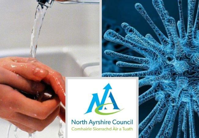 North Ayrshire Council vow to help community fight coronavirus