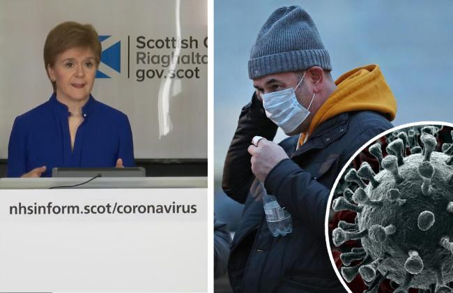 Nicola Sturgeon said restrictions would not be lifted yet, at today's press briefing.