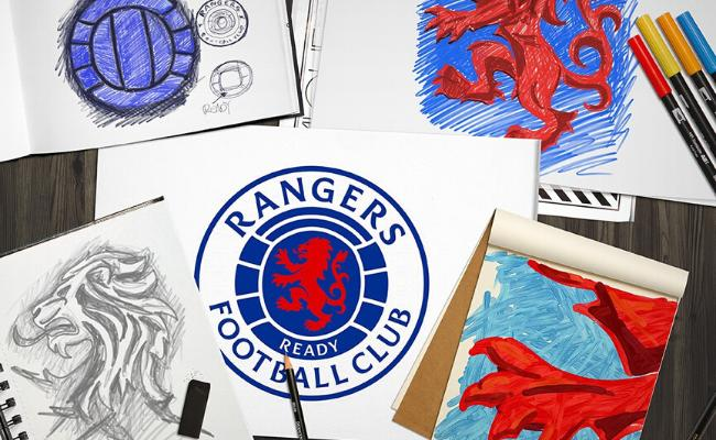 Ayrshire design firm redesigns Rangers iconic 'READY' crest