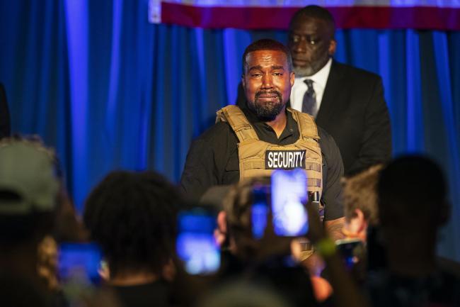 Million Dollar Babies Among Kanye West S Campaign Ideas Irvine Times
