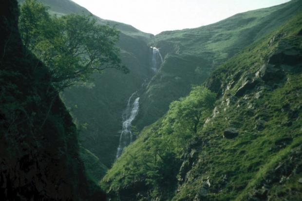 Irvine Times: Grey Mare's Tail. Picture: National Trust for Scotland