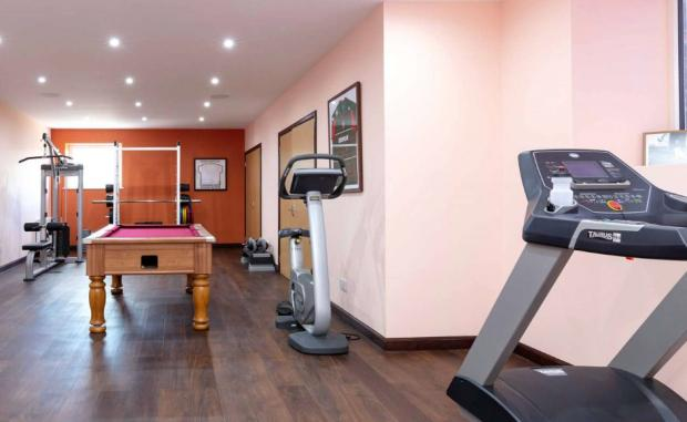 Irvine Times: The gym within Chapelhill (Credit: Savills)