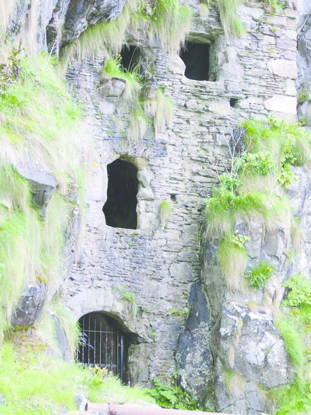 Irvine Times: Caves at Culzean Castle. Picture: National Trust for Scotland
