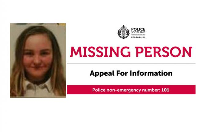 Missing vulnerable 12-year-old girl did not come home last night
