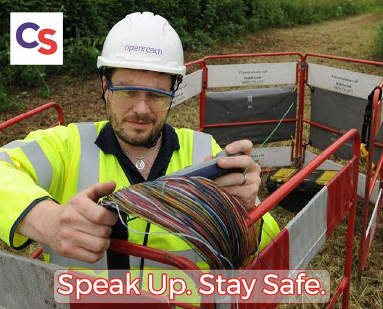 £1,000 reward for information on thieves who dug up internet cables