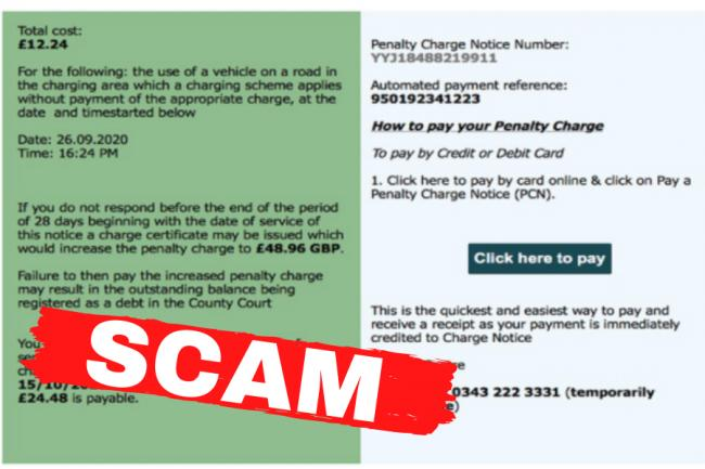 Ayrshire citizens warned of the dangers of scam emails