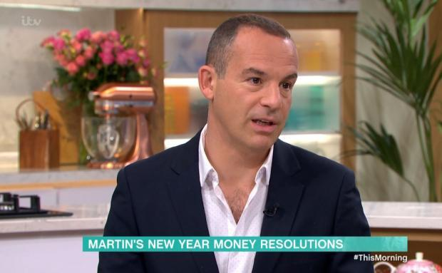 Irvine Times: Martin Lewis speaking on ITV's This Morning