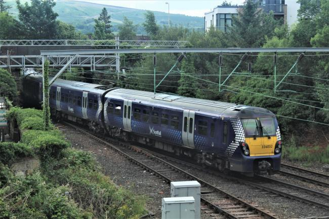 Person hit by train between Kilwinning and Paisley