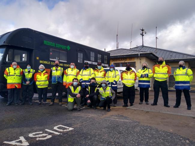 Irvine's Community Resilience Volunteers join forces with Coastwatch in new partnership.