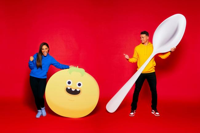 Alex Scott and Jermaine Jenas to compete in Red Nose Day challenge