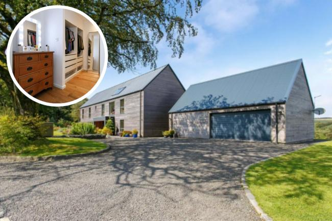 Take a look inside this Ayrshire property with luxurious accommodation and equestrian facilities