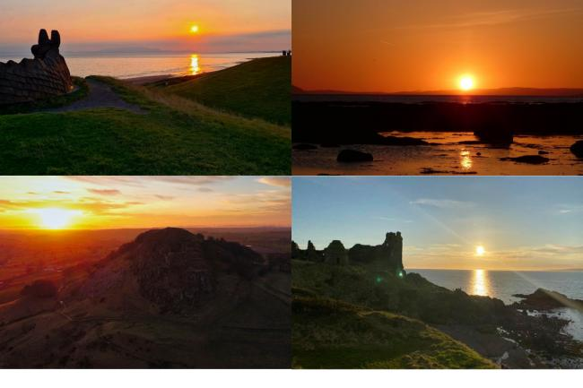 12 magical spots to enjoy an Ayrshire sunset this week