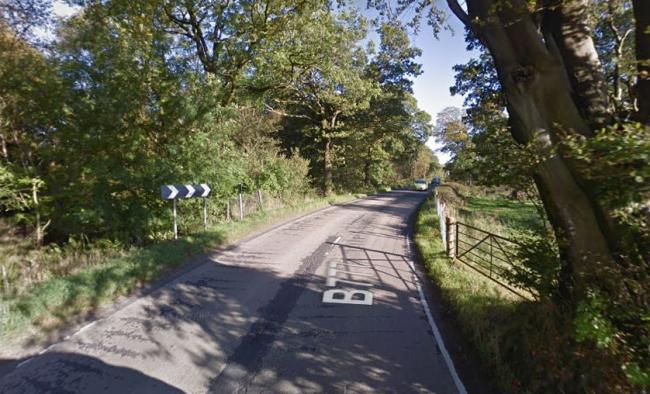 Motorcyclist, 54, seriously injured as bike crashes into tree on B777