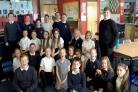 The P6/7 Blacklands pupils who created the film