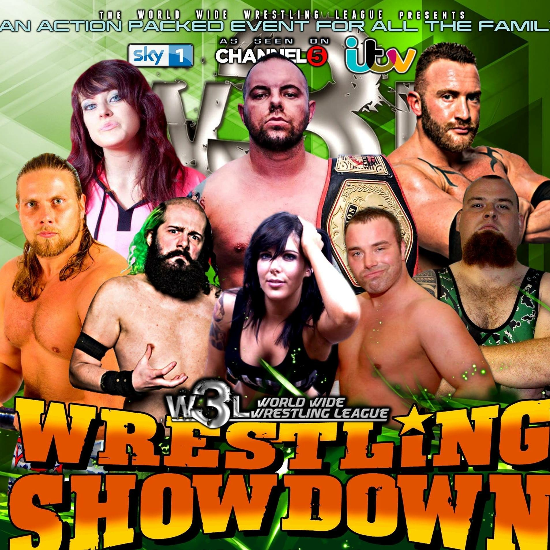 American Wrestling – W3L Wrestling Showdown