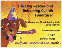 Fife Dog Rescue Ceilidh Fundraiser