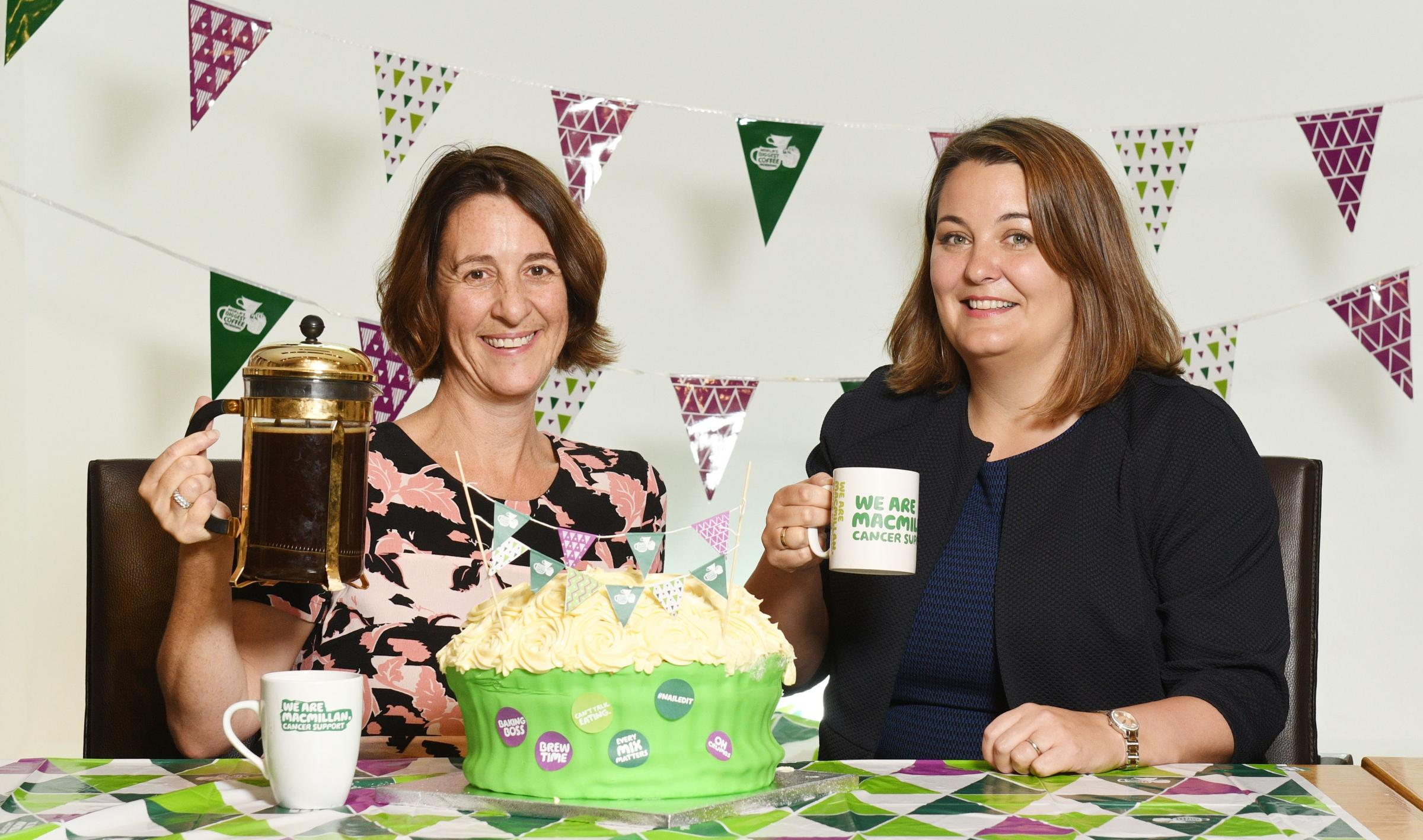 Big coffee morning for cancer charity hosted in Fullarton hub – Irvine Times