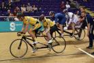 MAJOR CHALLENGE: Fullarton Wheelers are pictured in action.