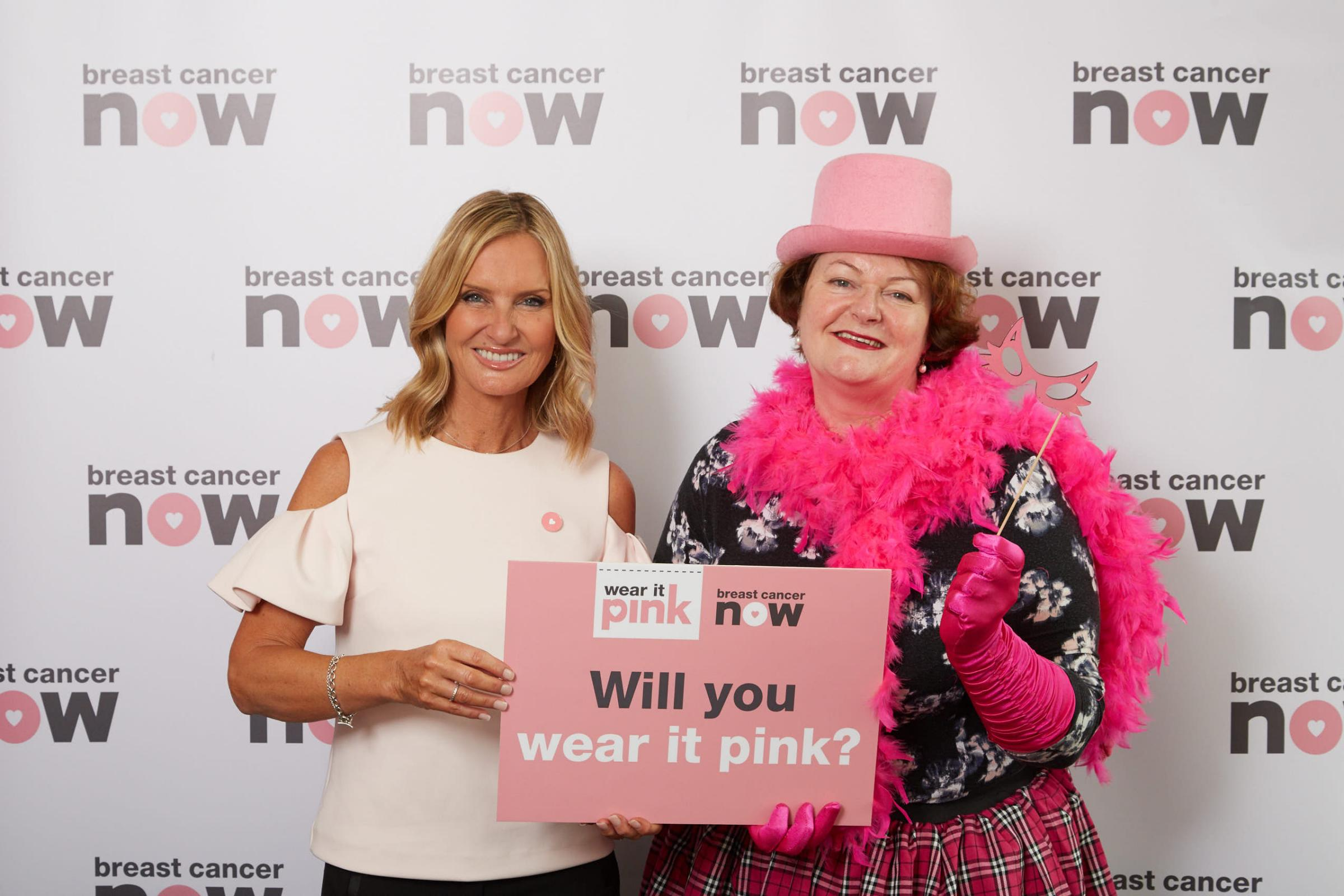 MP says 'wear it pink' for breast cancer charity