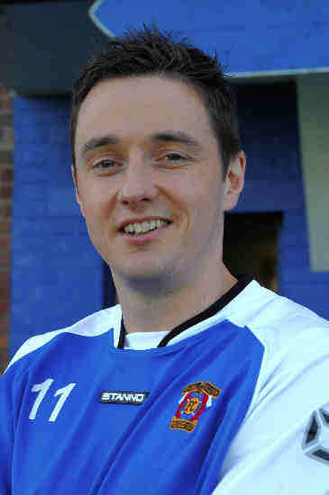 BACK AGAIN: Brian McGinty has returned to Irvine Meadow as manager.