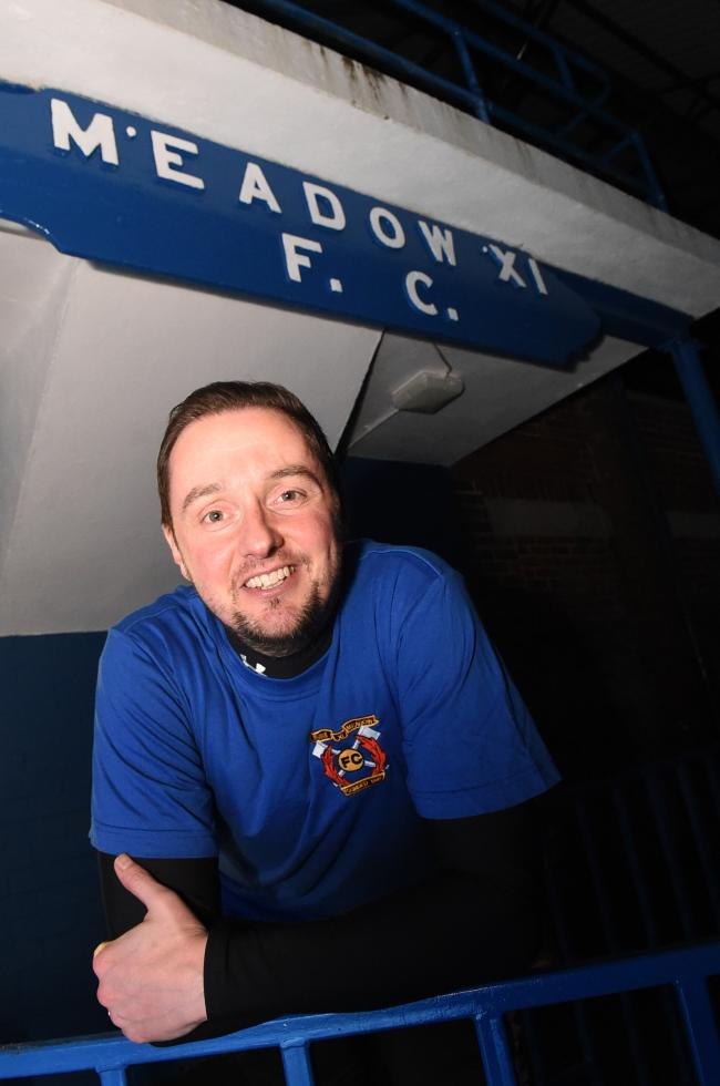 Meadow manager Brian McGinty.