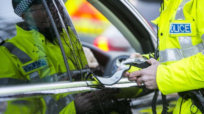 No drink drivers in North Ayrshire so far in December