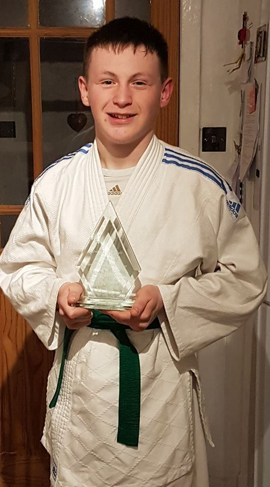 COACHING CLASS: Teenage judo ace Charlie McLean has received a major accolade.