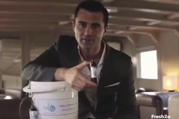 Darius Campbell reveals he almost DIED in Glasgow after drinking dirty water for charity ad