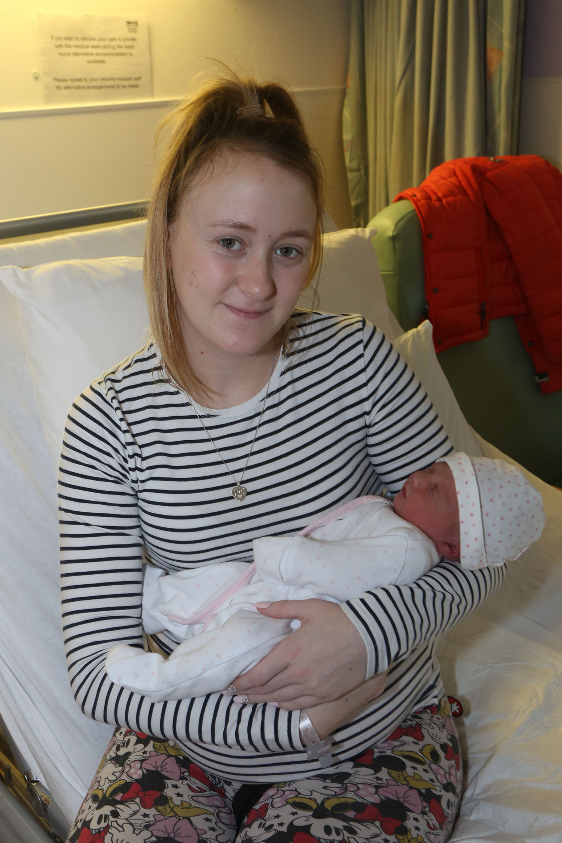 Christmas baby joy for Irvine couple
